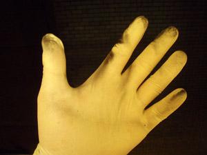 biodiesel safety glove