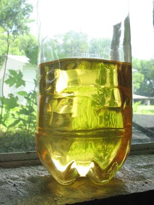 1 liter batch of biodiesel finished